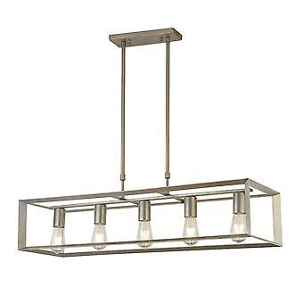 Searchlight Heaton - 5 Light Bar Vedhæng Sølv, Guld, E27