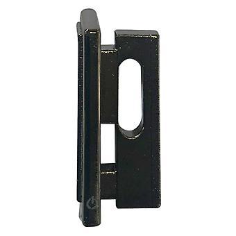 Ps4 cuh-1000/1100 -konsolipidikkeen virtapainike vaihtoon - kromattu musta | zedlabz-niminen