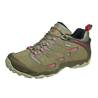 Merrell Chameleon 7 GTX Donne Gore Tex Hiking Scarpe / Allenatori - Brown