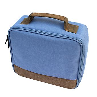 Portable Scratchproof Shockproof Canvas Storage Carry Bag Handbag Case For Selphy Cp910 1200 Mini Printer Projectors
