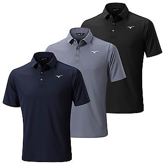 Mizuno Mens 2020 Breath Thermo Short Sleeve Logo Classic Golf Polo Shirt