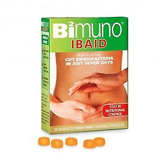 Bimuno Ibaid alimento complementar para mastigar pastilhas - comida Bimuno Ibaid suplemento pastilhas mastigáveis