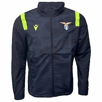 2020-2021 Lazio Full Zip -harjoitustakki (laivasto)