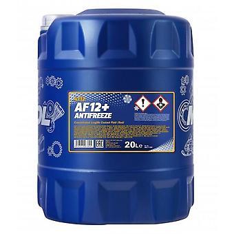 AF12+ Longlife AntiFreeze 20L Summer - Winter Coolant Concentrate