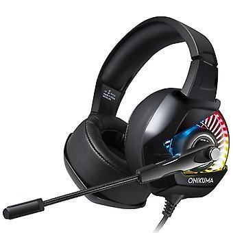 ONIKUMA K6 Gaming Headset Noise Reduction Stereo RGB Light Headphone
