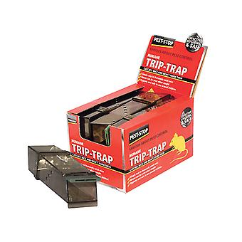 Pest-Stop Systems Trip Trap Humane Mouse Trap (Loose) Box of 6 PRCPSTT