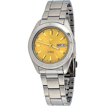 Seiko 5 Gent Watch SNKM63K1 - Stainless Steel Gents Automatic Analogue