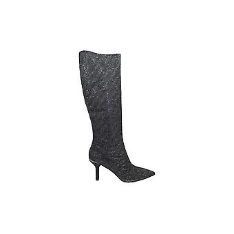 Michael Kors Women-apos;s Shoes Katerina Fabric Pointed Toe Over Knee Fashion Boots
