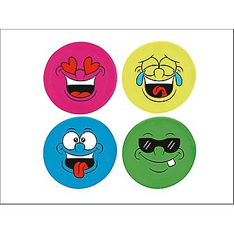 Wilton Bradley Giant Face Frisbee Assorted TY5994