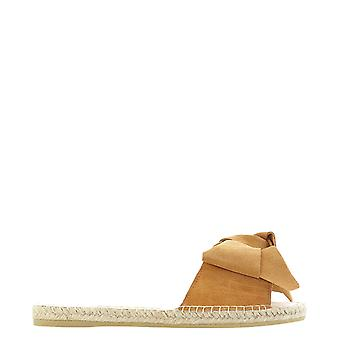 Manebí W11j0 Women's Beige Suede Sandals