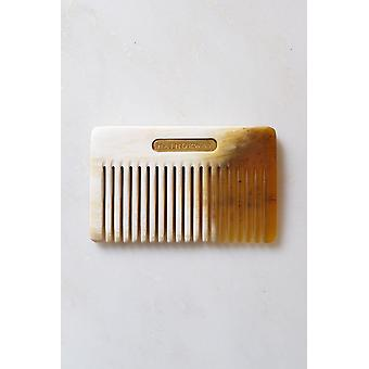 Chai Buffalo Horn Pocket-size Cheveux / Beard Comb