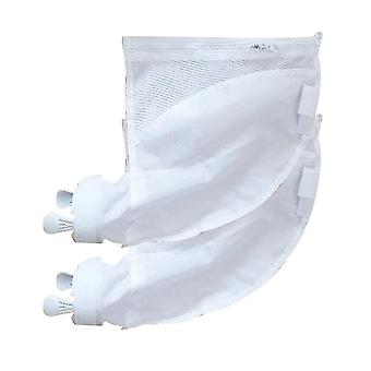 Pool Cleaner Filter Bag, Useful, Durable Zipper, Replacement Pouches, Vacuum