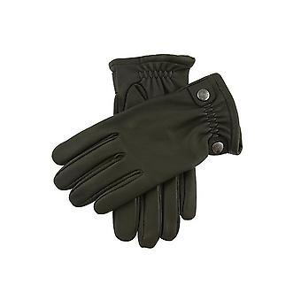 Heren's Deerprint Lederen Handschoenen