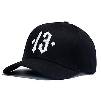 Number Embroidery Baseball Cap