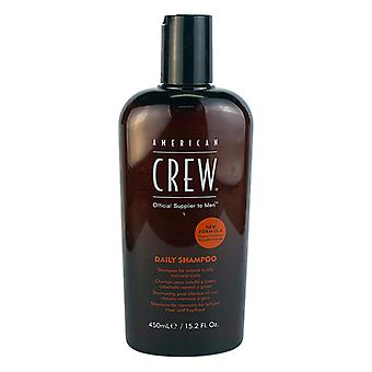 American Crew Men Daily Shampoo (For Normal to Oily Hair and Scalp) 450ml/15.2oz