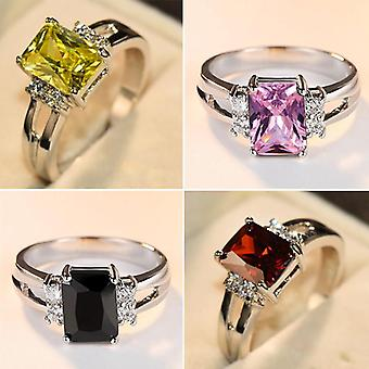 Luxury Female Stone Ring, Fashion Wedding Jewelry