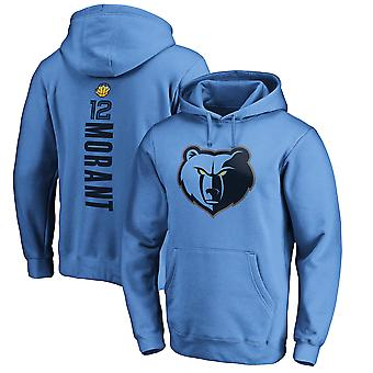 Vancouver Grizzlies No.12 Morant Pullover Hoodie Swearshirt Tops 3WY378