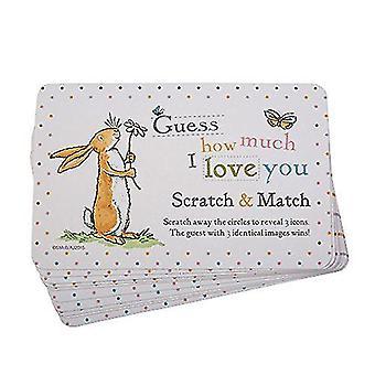 どのくらいあなたのスクラッチ カード ゲーム ベビー シャワーの洗礼 10 カードを愛してね