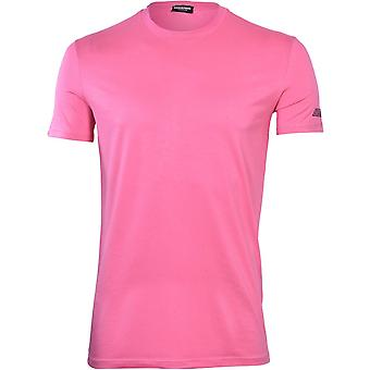 DSquared2 Fluo Signatur Modal T-Shirt, Fuchsia