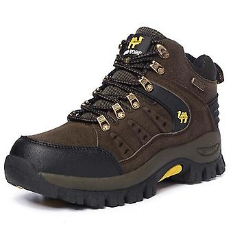 Couples Outdoor Mountain Desert Climbing Shoes - Men Women Ankle Hiking Boots