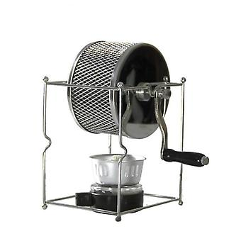 Stainless Steel- Handuse Coffee Bean Roaster With Burner Machine