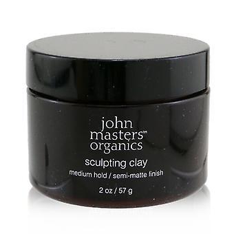 John Masters Organics Sculpting Clay (Medium Hold/ Semi-Matte Finish) 57g/2oz