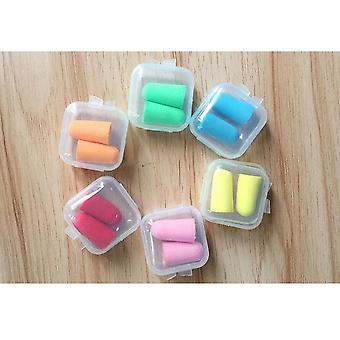 Comfort Earplugs, Noise Reduction Foam Soft Ear Plugs, Box-packed, Protective