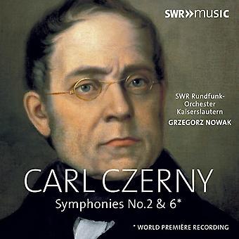 C Czerny - Symphonies 2 & 6 [CD] USA import
