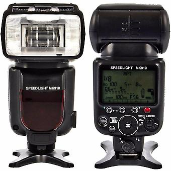 Meike Mk910 1/8000s Sync Ttl Camera Flash Light Speedlite For Nikon