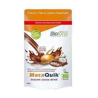 Macaquik Instant Kakao Drikke Bio 200 g