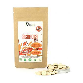 Organic Acerola 125 tablets of 800mg