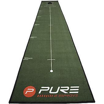 Pure2Improve 4 Meter (13.12 Fuß) Golf Putting Matte