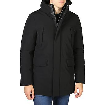 Sí zee chaqueta de hombre negro 0615_o812_nm00