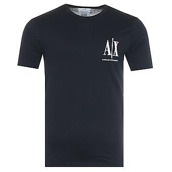 Armani Exchange Icon T-Shirt - Navy