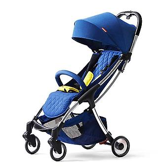 Baby Stroller, Comfortable And Lightweight, Folding, Ultra Light Pram Can Sit