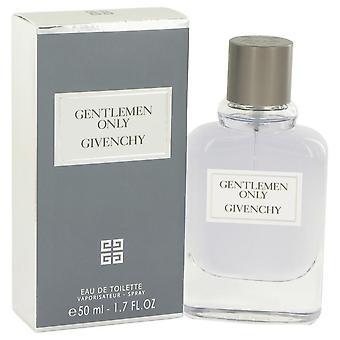 Senhores só Eau De Toilette Spray por Givenchy 1,7 oz Eau De Toilette Spray