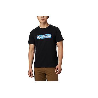 Columbia M Rapid Ridge Grafisk Tee 1888813010 universell hele året menn t-skjorte