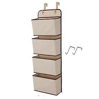 Non-woven four-layer door storage bag Multifunction durable