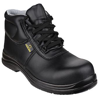 Amblers fs663 metal-free water-resistant safety boots womens