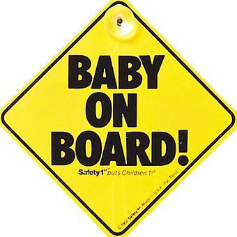Säkerhet 1: a barnet ombord skylt