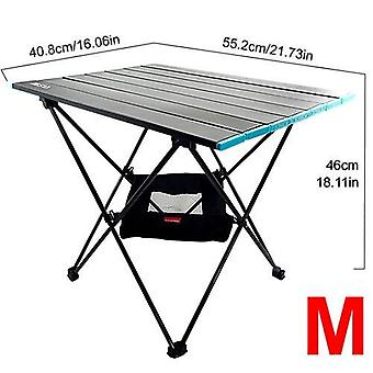 Ultraleichtes Aluminium Outdoor Klapptisch Hocker Set
