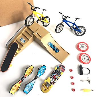 Mini Finger Skateboarding Skate Ramp Teile