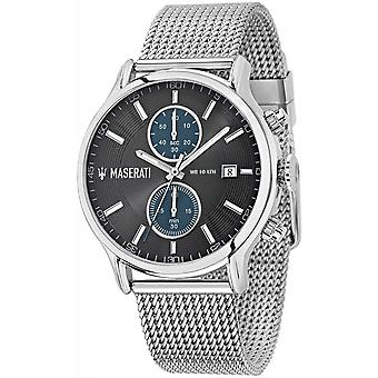 Maserati R8873618003 Montre-bracelet Epoca Chronograph Steel Mesh