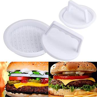 Keuken Food-grade Plastic Hamburger Meat Patty Maker Mold