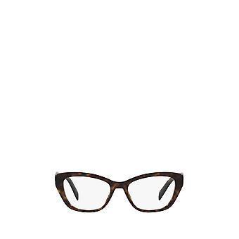 Prada PR 19WV tortoise female eyeglasses