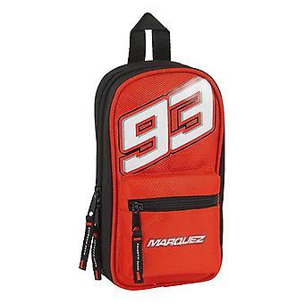 Backpack Pencil Case Marc Marquez Black Red