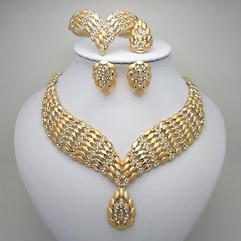 African Dubai Gold Jewelry
