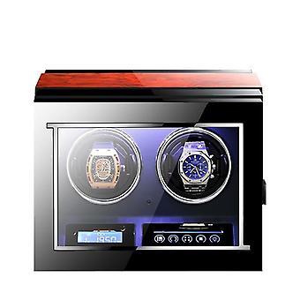 Automaattinen itsetuulikellot laatikko lcd kosketusnäyttö ja kaukosäädin katsella