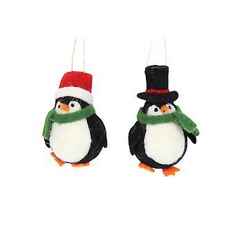 جيزيلا غراهام زوج من البطريق في القبعات الأعلى Decs