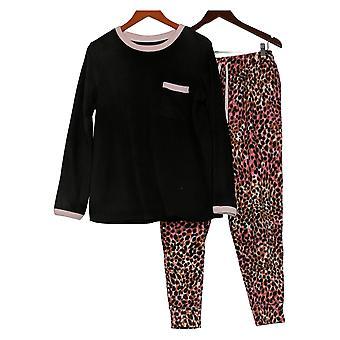 Cuddl Duds Set Regular Fleecewear Pajama Pink A381825